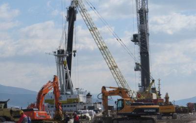 ОАО «Новорослесэкспорт» начало первый этап реконструкции причалов в порту Новороссийск